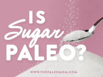 is sugar paleo
