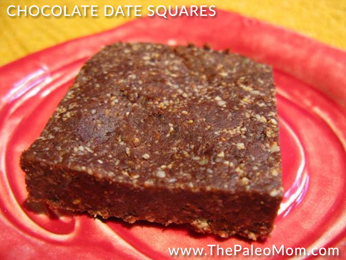 Chocolate Date Squares