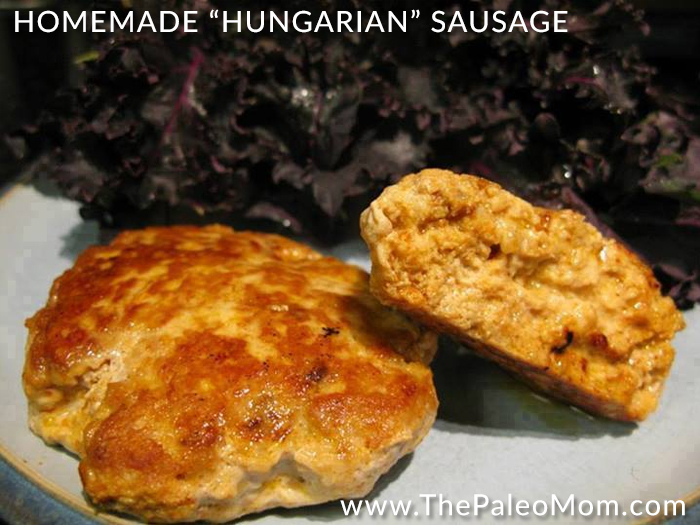 Homemade Hungarian Sausage