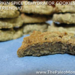 Pumpkin Spice Dehydrator Cookies AIP-friendly