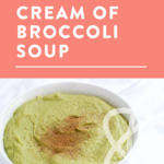 bowl of soup with title