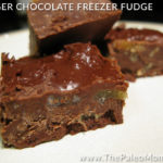 Ginger Chocolate Freezer Fudge