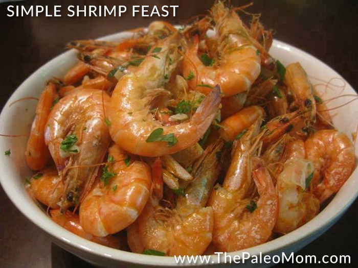 Simple Shrimp Feast