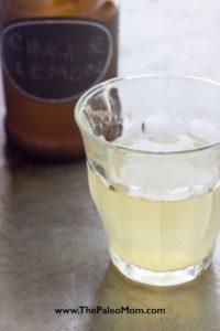 Ginger Lemon Kombucha-7