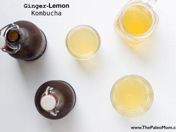 Ginger Lemon Kombucha