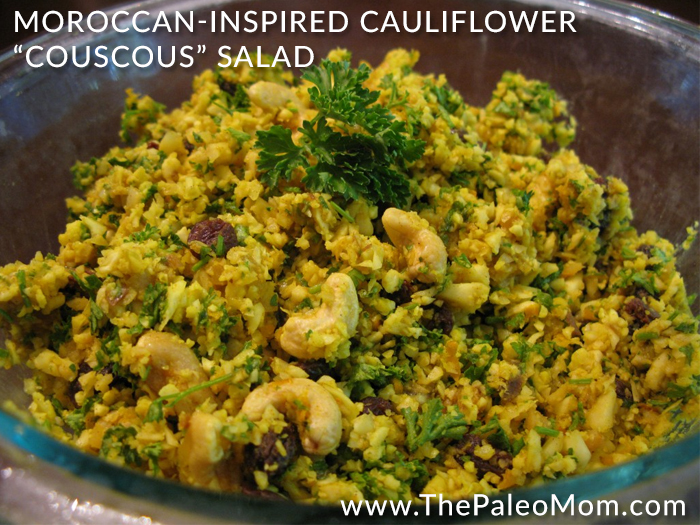Moroccan-Inspired Cauliflower Couscous Salad
