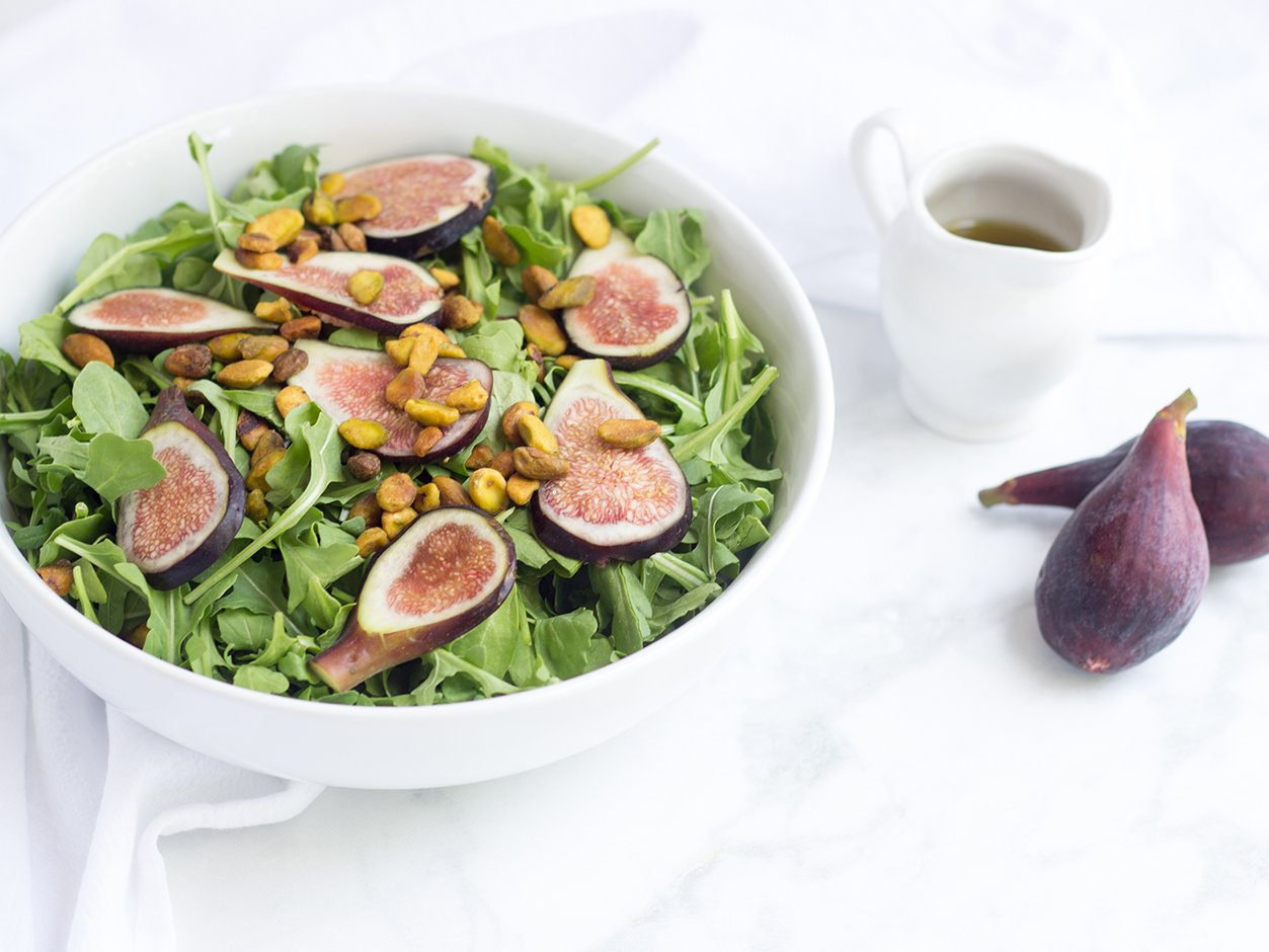 Fig and Pistachio Salad