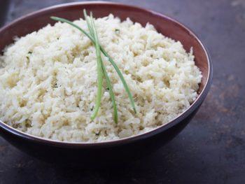 ginger garlic cauliflower rice