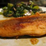Teriyaki-Inspired Poached Salmon