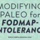 Modifying Paleo for FODMAP-Intolerance