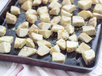 Savory Roasted Taro