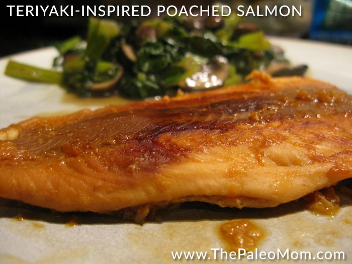 Teriyaki Inspired Poached Salmon