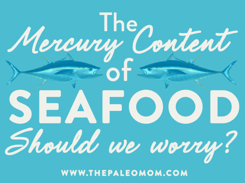 mercury in seafood