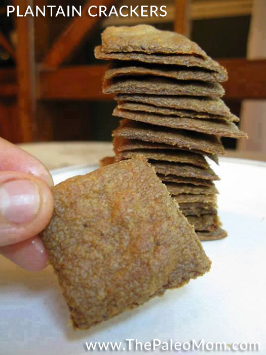 Plantain Crackers