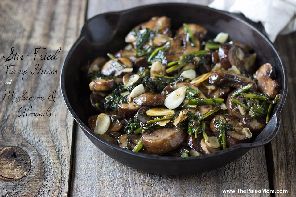 Stir Fried Turnip Green wide