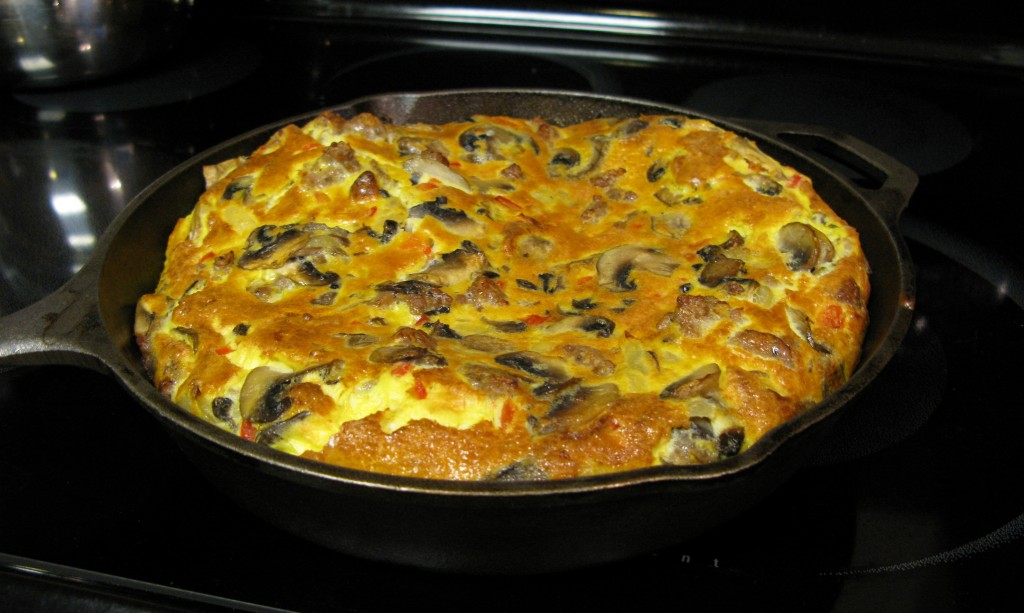 Frittata With Zucchini, Sun-Dried Tomatoes, And Sausage Recipes ...