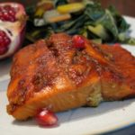 Pomegranate Molasses-Glazed Salmon | The Paleo Mom