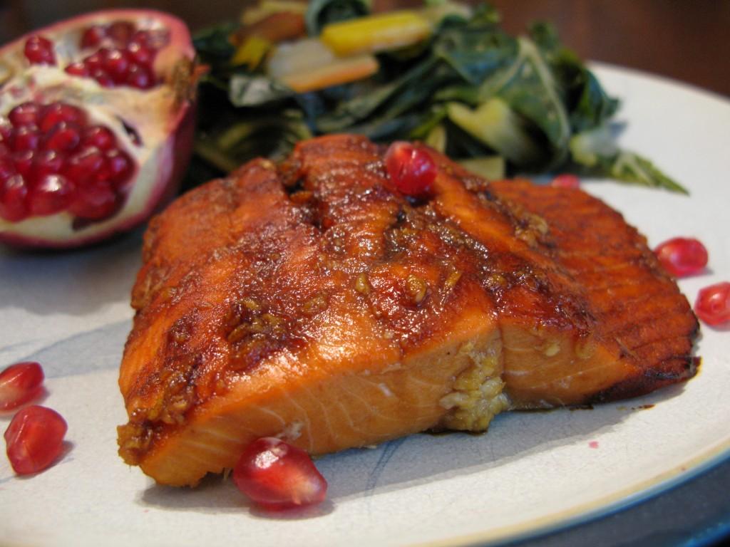 Pomegranate Molasses-Glazed Salmon   The Paleo Mom