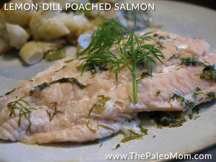 Lemon-Dill Poached Salmon
