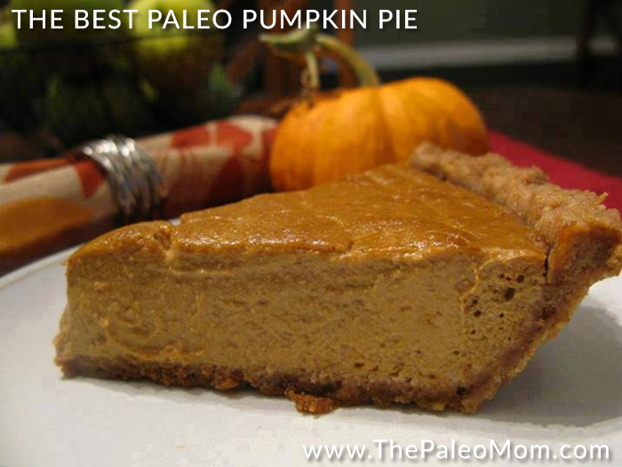 The Best Paleo Pumpkin Pie