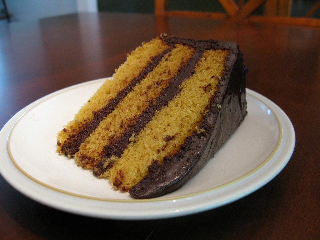 Paleo Vanilla Cake with Dark Chocolate Frosting | The Paleo Mom