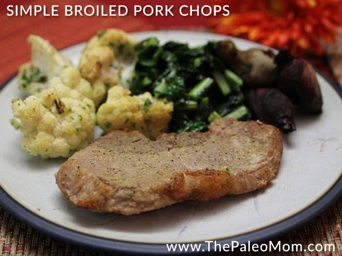 Simple Broiled Pork Chops