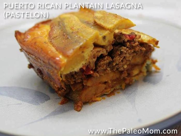 Puerto Rican Plantain Lasagna Pastelon