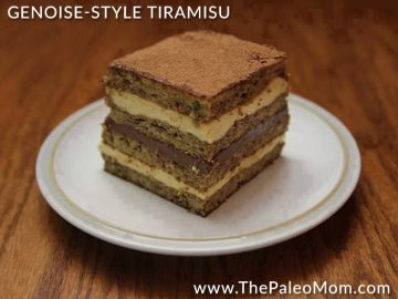 Genoise-Style Paleo Tiramisu