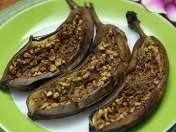 Grug's Barbecued Stuffed Bananas—A Recipe Inspired by The Croods