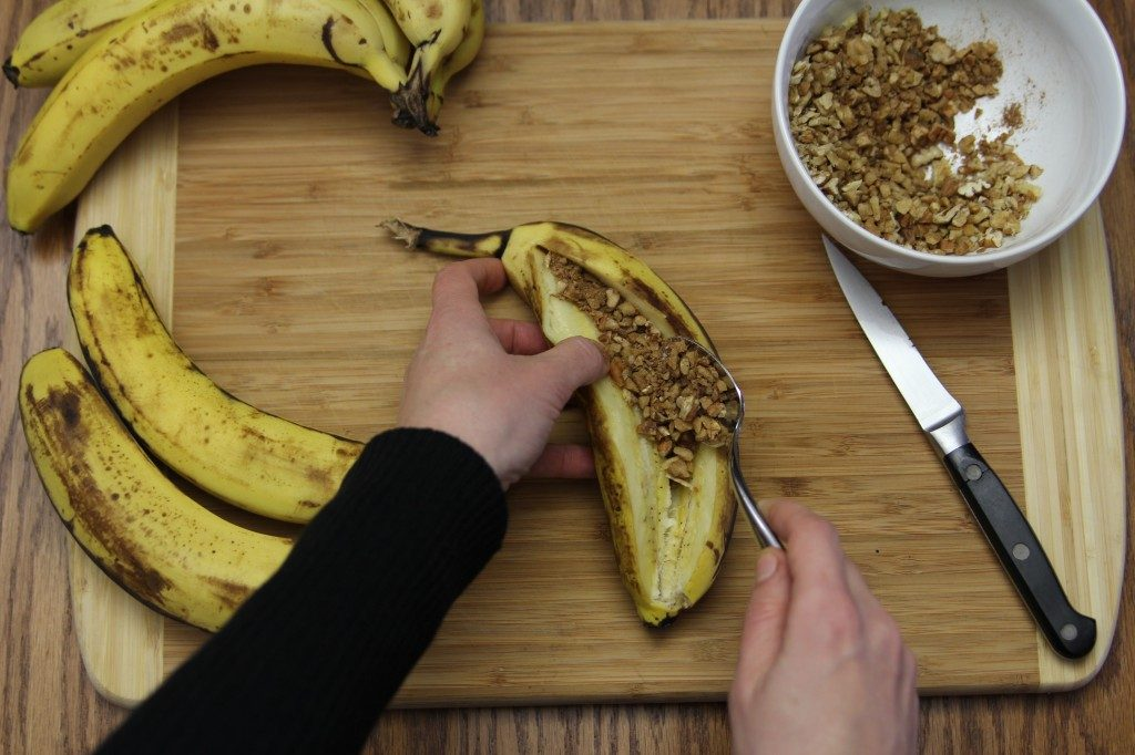 Barbecued Stuffed Bananas | The Paleo Mom