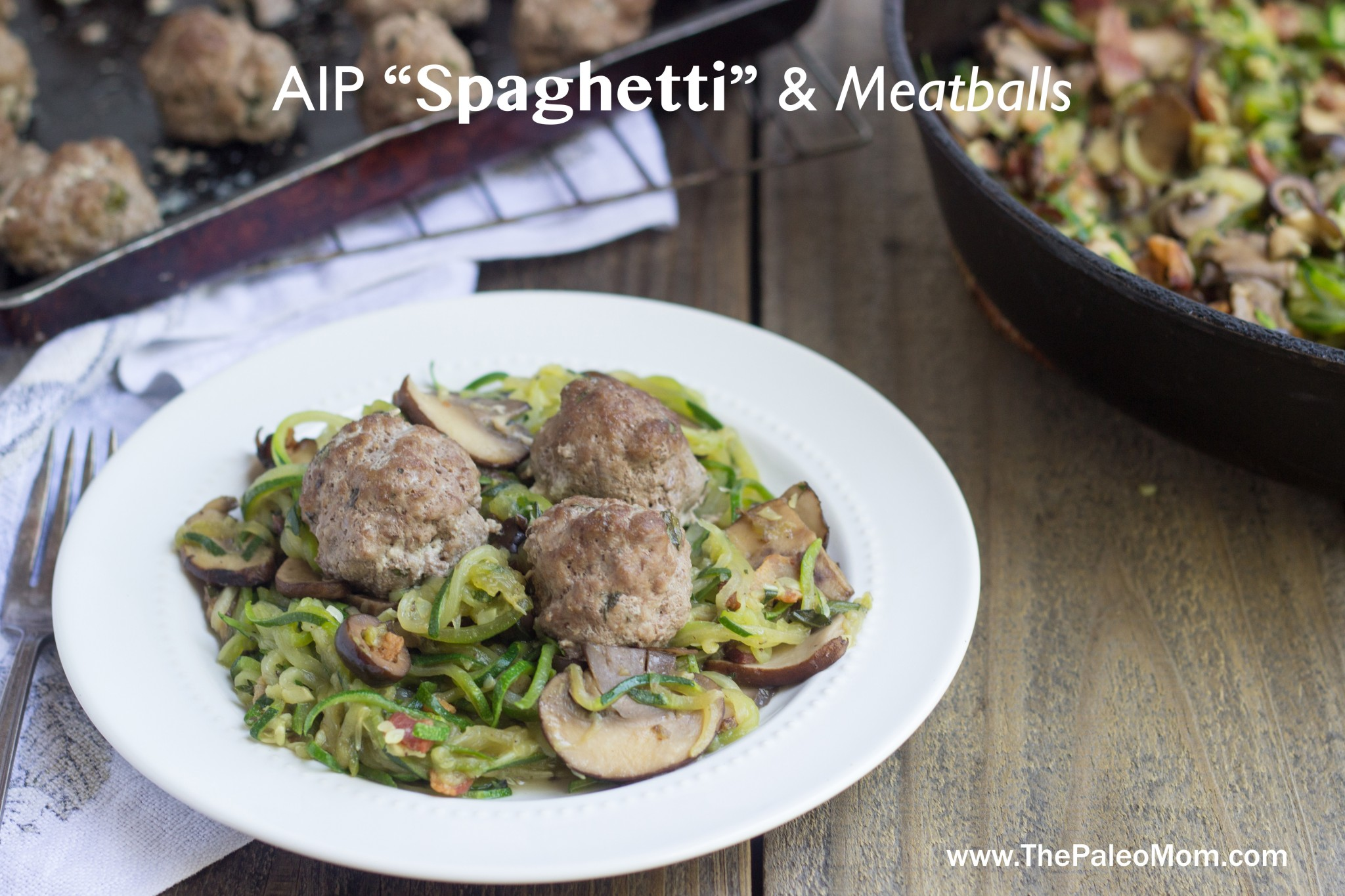 AIP Spaghetti and Meatballs