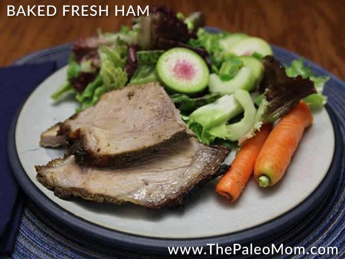 Baked Fresh Ham
