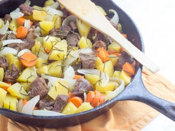 Pressure-Cooker Lamb Stew