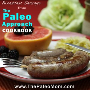 Breakfast Sausage from The Paleo Approach Cookbook