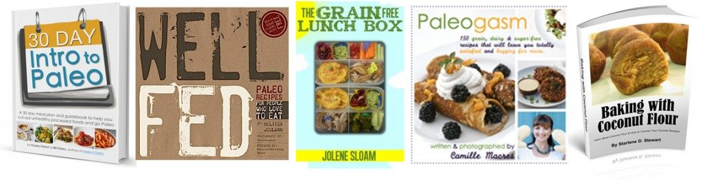 Bundle Paleo Cookbooks