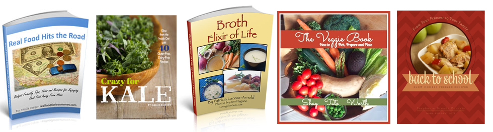 Bundle Real Food Cookbooks