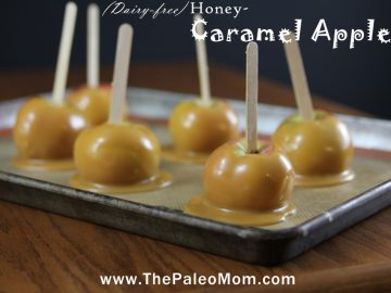 Caramel Apples (Dairy-Free, AIP-friendly)