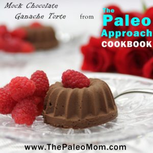 Carob Ganache Torte from The Paleo Approach Cookbook