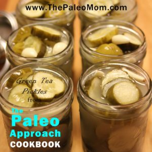 Green Tea Pickles from The Paleo Approach Cookbook