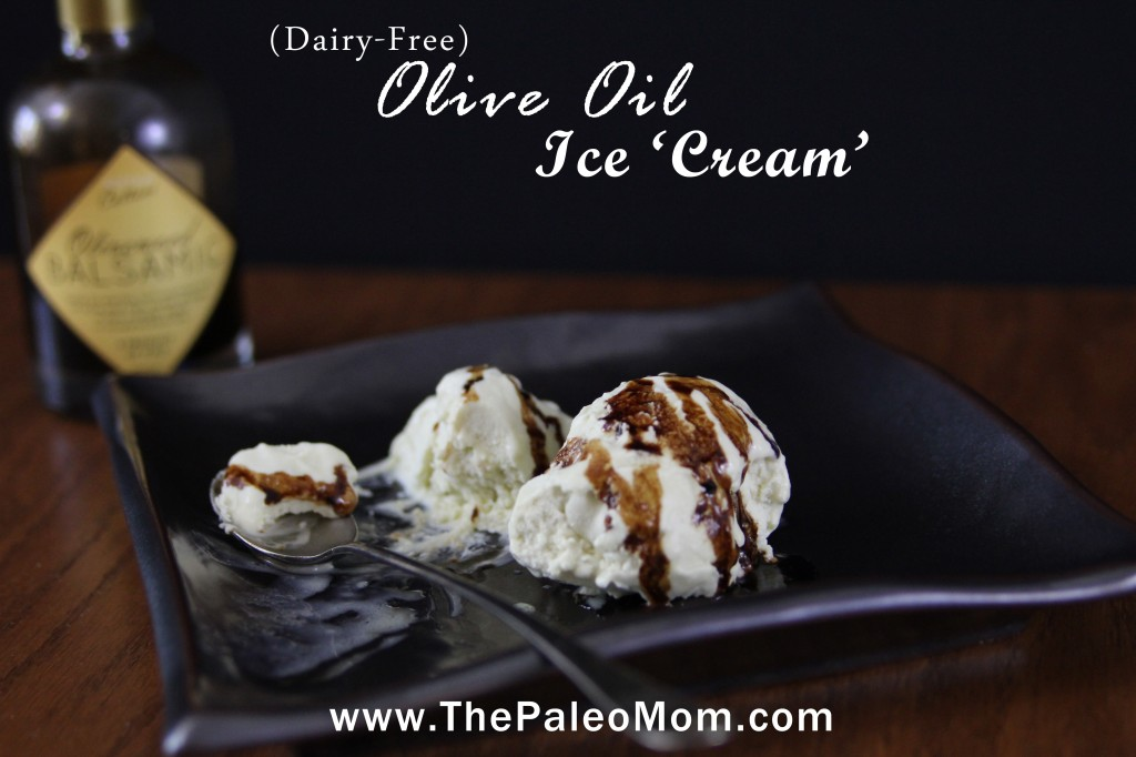 » Olive Oil Ice Cream