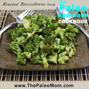 Roasted Broccoflower from The Paleo Approach Cookbook