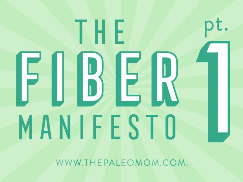 The Fiber Manifesto Part 1