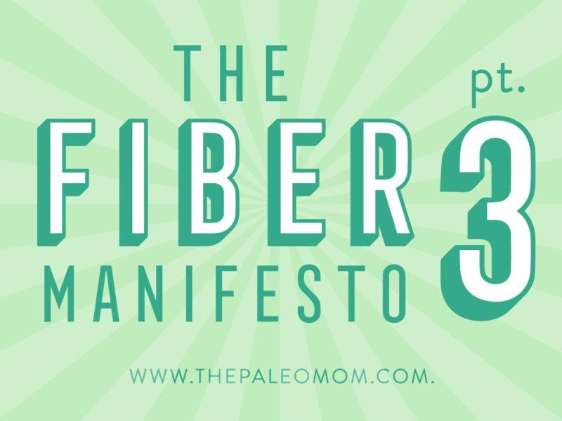 The Fiber Manifesto Part 3