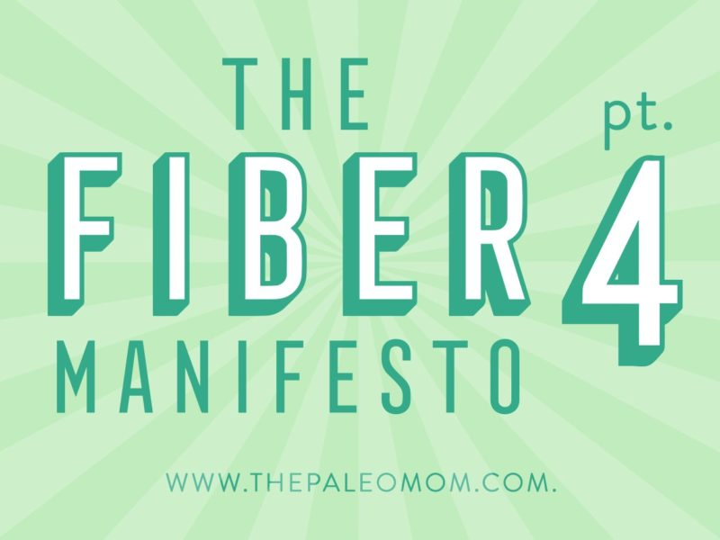 The Fiber Manifesto Part 4
