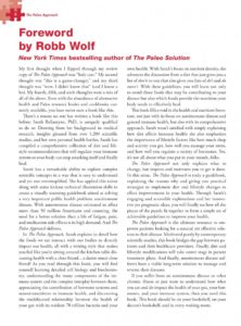 The Paleo Approach Forward by Robb Wolf-2