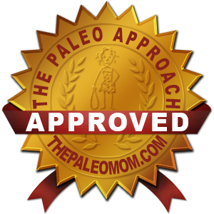 The Paleo Approach Approved Badge