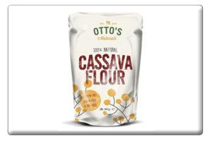 Cassava Flour Button