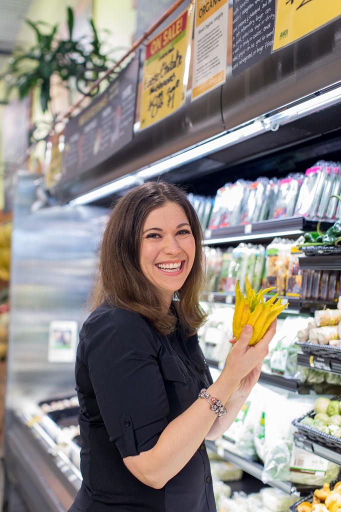 Sarah Ballantyne at Whole Foods