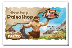 One Stop Paleo Shop Button