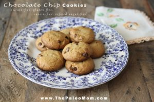 Chocolate Chip Cookies | The Paleo Mom